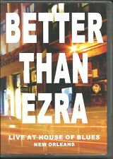 BETTER THAN EZRA LIVE at House of Blues 2004 INTERVIEW & BEHIND SCENE VIDEO DVD