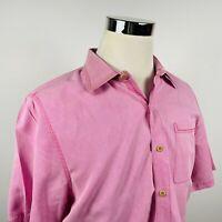Nat Nast Mens Medium Silk Blend Retro Lounge Shirt Pink Check Luxury Casual