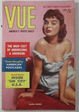 VUE MAG DIGEST JAN 1959 BUNNY YEAGER JEAN CARMEN JOAN GRANT SHIRLEY PRICE