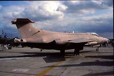 Original colour slide Buccaneer S.2B XV352/U of 208 Sqdn. Royal Air Force