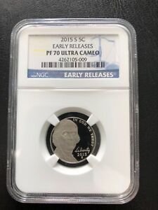 2015- S  5C  EARLY RELEASES NGC- PR-70UC RARE