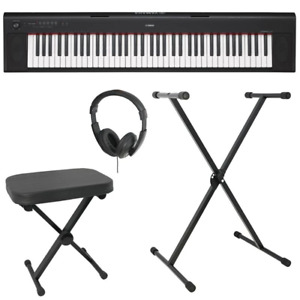 Yamaha Piaggero NP32 Keyboard Package Black - B-Stock