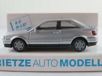 Rietze 20300 Audi Coupé (1988-1991) in silbermetallic 1:87/H0 NEU/OVP