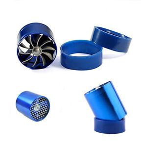 Car Air Intake Turbonator Single Fan Turbine Turbo Engine Turbine Gas Fuel Saver