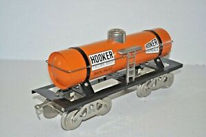 McCOY HOOKER CHEMICALS GATX 98390 SINGLE DOME TINPLATE ST.GAUGE TANK CAR EX