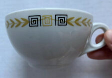 1974 SHENANGO CHINA ESQUIRE PATTERN RESTAURANT WARE COFFEE CUP, VINTAGE