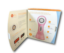 PINK CLARISONIC ARIA ADVANCED SKIN CARE SONIC CLEANSING RECHARGEABLE