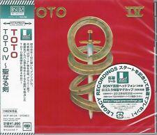 TOTO IV 2013 JAPAN RMST BLUE-SPEC CD2 HIGH FIDELITY CD - LUKATHER - PORCARO