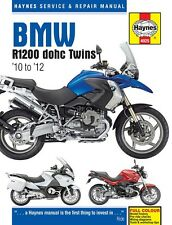 BMW R1200 DOHC R1200GS R1200R RT 2010-2012 Haynes Manual 4925 NEW