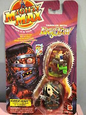 1993 Mattel Mighty Max Tangles with Lock Jaw MOC