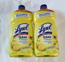 Clean and Fresh Multi Surface Cleaner - 2 Bottles - 40 fl.oz. NEW