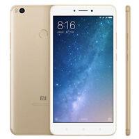 """6.44""""Xiaomi Mi Max 2 4+64GB 4G Débloqué Téléphone Global Snapdragon625 - Doré"""