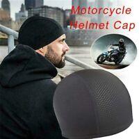 Moisture Wicking Cooling Skull Cap Helmet Inner Liner Beanie Cap Sweatband Hat