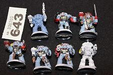 Juegos taller Warhammer 40k Lobos espaciales lobo Guardia Ejército De Metal Lote terminadores