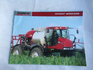 CASE CASEIH 4422 3320 3185 3150 Patriot sprayers brochure
