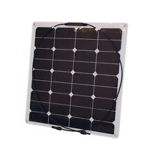 Solar Panel Semi Flexible 55W/12V, Mono, EFTE, Light Weight , for camper, boats