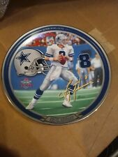 "Troy Aikman Super Bowl XXVII 8"" Collectible Plate # 3957A  America's Quarterback"