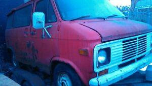 1971-1980 Chevrolet & GMC van Passenger side rear side glass