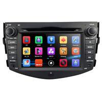 "7"" Car DVD GPS Stereo Player Head Unit Bluetooth DAB+ For TOYOTA RAV4 2006-2012"