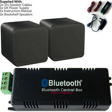 Sans fil/bluetooth amplificateur & 80W background speaker kit – home cinema hifi amp