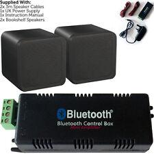 Wireless/Bluetooth Amplifier & 80W Background Speaker Kit – Home Cinema HiFi Amp