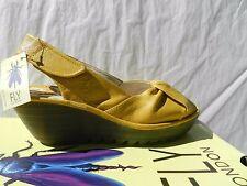 Fly London Yakin Chaussures Femme 41 Sandales Escarpins Compensé Salomés UK8 New