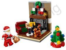 LEGO 40125 Christmas Santa's visita Set