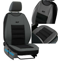 FRONT SEAT COVER MAT ARTIFICIAL LEATHER & FABRIC FOR TOYOTA HILUX 2004-2020