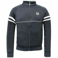 Sergio Tacchini Track Top Full Zip Mens Jumper Sweatshirt Navy 36969 002 X19A