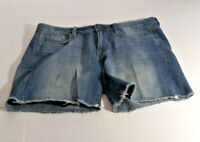 J Crew Selvedge Womens Denim Shorts Jean Shorts 25 Medium Wash Mid Rise Shorts