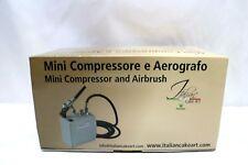 Martellato  Mini Compressor  and Airbrush  Cake Paint Kit,