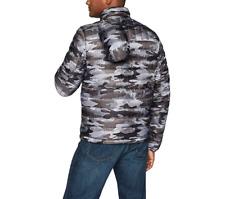 Tommy Hilfiger Mens Down Jacket Puffer Jacket Grey Camo...