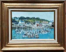 Tableau , peinture, Huile, signé JOE LE FUR, Port Tudy Groix