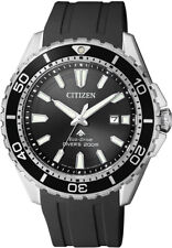 Citizen Eco-Drive Promaster Sea Mens 200m Dive Watch. ISO 6425 Cert BN0190-15E