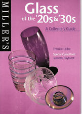 Millers Glass Of the 20s & 30s A Collectors Guide Book Collecting Glass