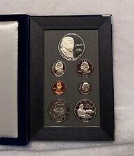 1993 S US Mint (7) Coin Prestige Proof Set - Silver Dollar & Half Bill Of Rights