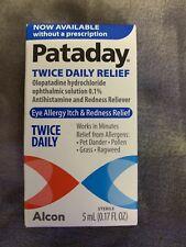 Pataday - TWICE Daily Eye Allergy Itch & Redness Relief 5ml