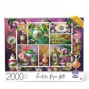 2000 Piece Jigsaw Puzzle Fine China Fun Family Activity New Milton Bradley