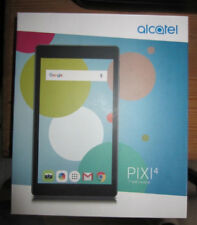 "alcatel 7"" inch WIFI Android PIXI 4 white tablet brand new"