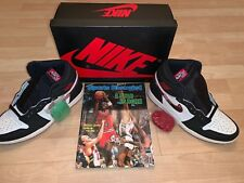 Nike Air Jordan 1 Retro High OG 'Sports Illustrated' w/OG 1984 Magazine Mens 9.5