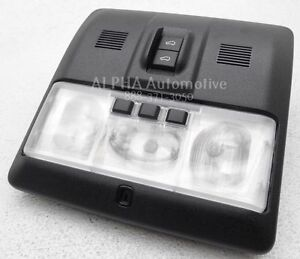 New OEM 2010-2013 Land Rover Range Rover Sport Dome Light W/ Sunroof Switches