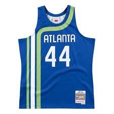 Atlanta Hawks #44 Pete Maravich 1971 - 72 Mitchell & Ness Swingman NBA Jersey