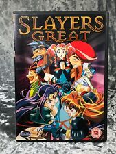 Slayers Great Anime Manga Dvd Rare Release Out Of Print
