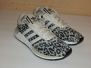 Womens Lace Up Sneakers Casual Sport Gym Leopard Printed Running Shoes Joggers