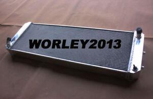 3 core aluminum radiator for LOTUS Esprit S4 SE S4s V8 GT GT3 1988-2004 manual
