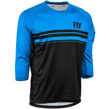 Fly Racing Ripa 3/4 Sleeve Jersey XX-Large Black/Blue Heather