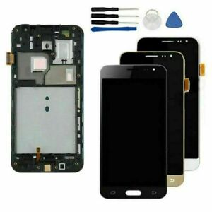 For Samsung Galaxy J3 2016 J320F LCD Touch Screen Digitizer Frame Replace Parts