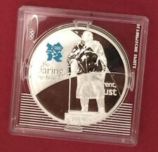 2010 SILVER £5 Five Pounds Coin Winston Churchill 2012 LONDON OLYMPIC