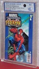 ULTIMATE SPIDER-MAN #2 (Lee Variant), Graded 9.8 by MCG, 2000, Marvel