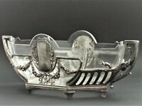 WMF Jugendstil Art Nouveau Jardiniere Snake Center Piece Crystal Insert XL (108)